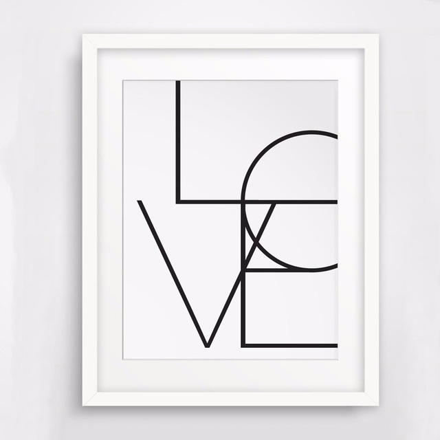 Love Sign I Love You Poster Word Art Wall Words Printable Wall Art