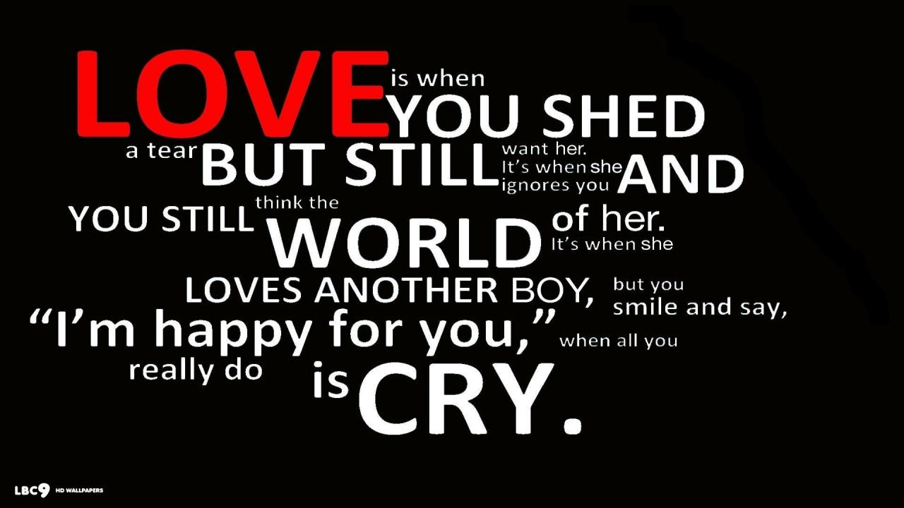 Love Words Hd Wallpapers