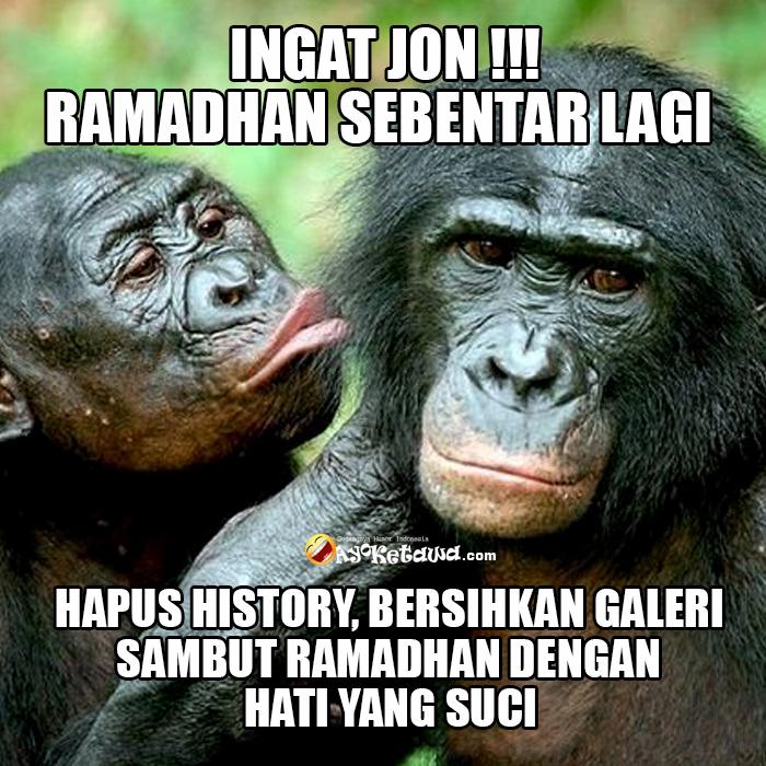 Meme Lucu Ramadhan Meme Lucu Menjelang Ramadhan Hapus History Bersihkan Galeri Woyyy Sambut Ramadhan Dengan Hati Yang Suci Www Ayoketawa Com