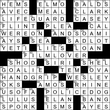 Crossword Clue Archives Nytcrossword Com
