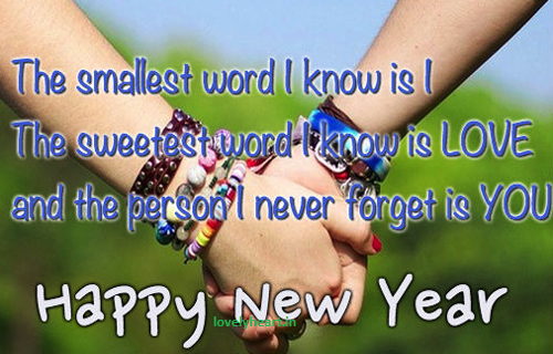 new year wishes for bf