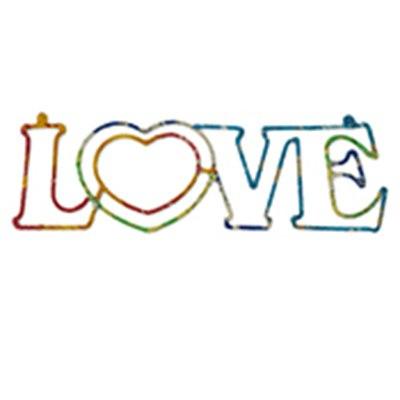 Sari Wall Word Love
