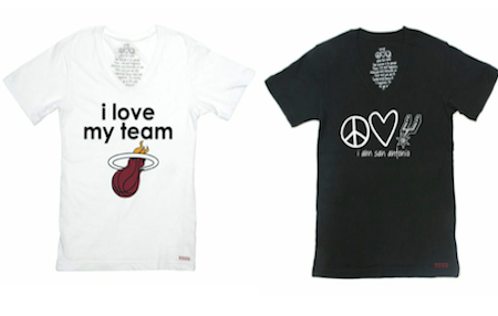 Peace Love World Teams With The Nba To Launch Womens Apparel Collection