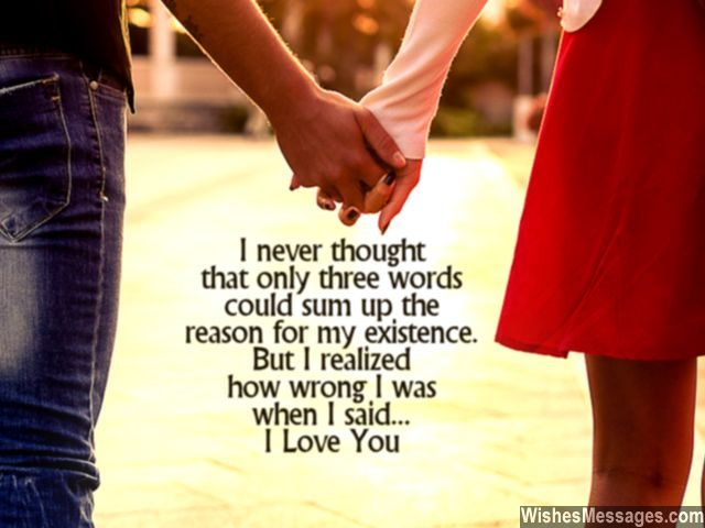 Sweet I Love You Message To Boyfriend From Girlfriend