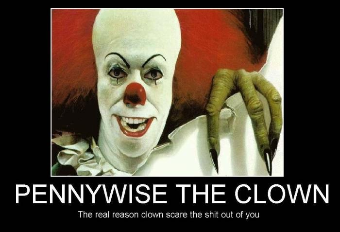 The Real Reason Clown Scare The Out Of You Funny Poster