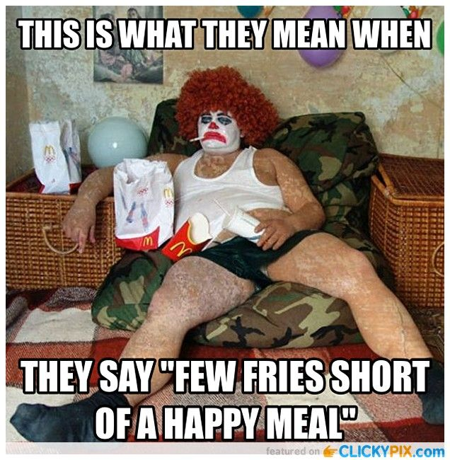 Low Down Clown Captions