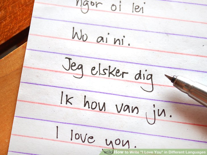 Imageled Write I Love You In Different Languages