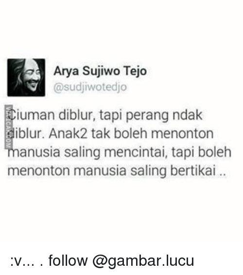 Indonesian Language Arya And Follower Arya Sujiwo Tejo Sudjiwotedjo Iuman