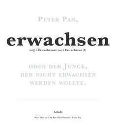 Learning German Typography German Word Of The Day