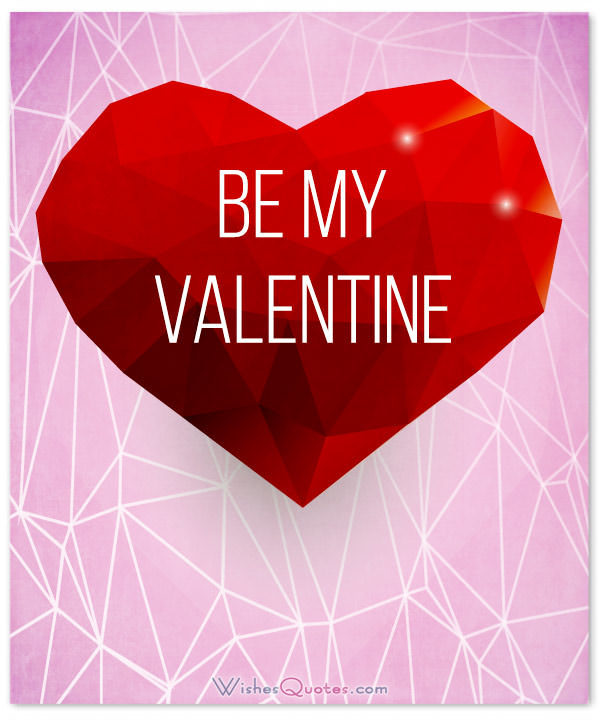 Romantic Valentines Day Love Images For Him Be My Valentine Card