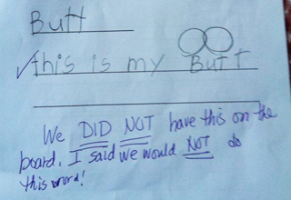 Of The Darnedest Things Kids Wrote At School