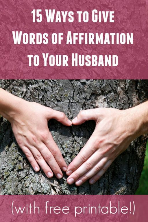 Fun Ways To Give Words Of Affirmation To Your Husband
