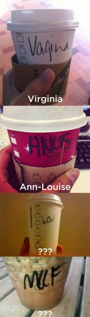 Starbucks Cant Spell My Name
