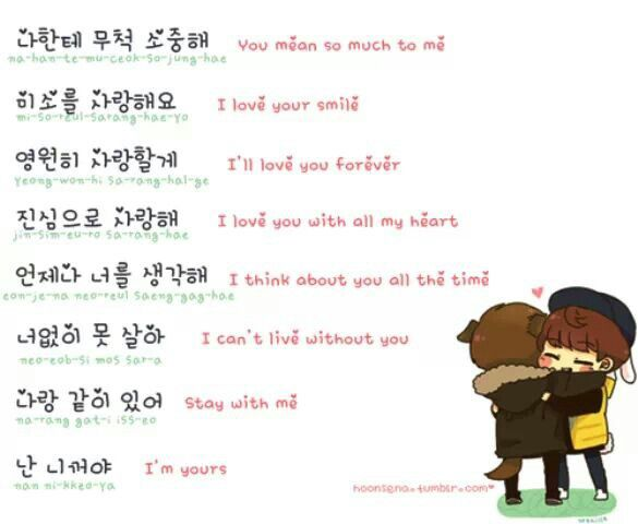 Love Phrases