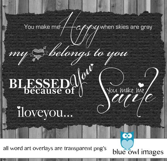 Photography Love Words PhotoshoPhotoverlay Digital S Book Word Art Photo Stamps Word