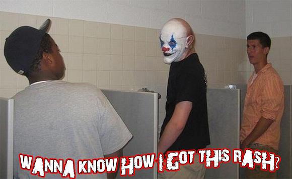 Caption The Clown Win A Shirt Winner
