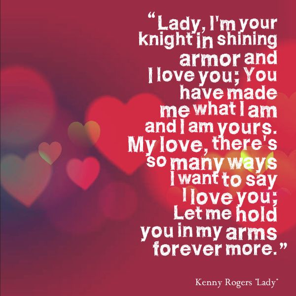 Lady By Kenny Rogers Our Wedding Song And I Still Love It