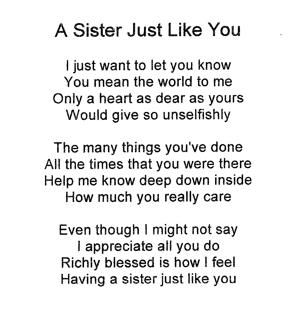 Christian Message Love My Sister Quotes Both Two Them Stuff Fun Saying Word Sweet Beautifull Words