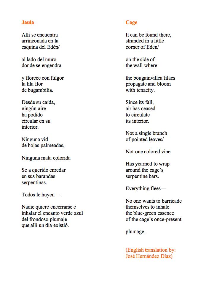 Love Poems Spanish English Translation