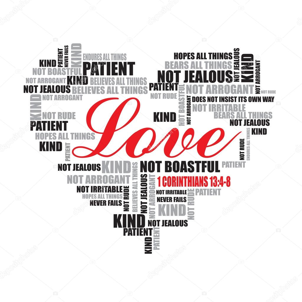 Love Typography Love Word Cloud Word Art Vector Il Ration Vector By Avezadesign