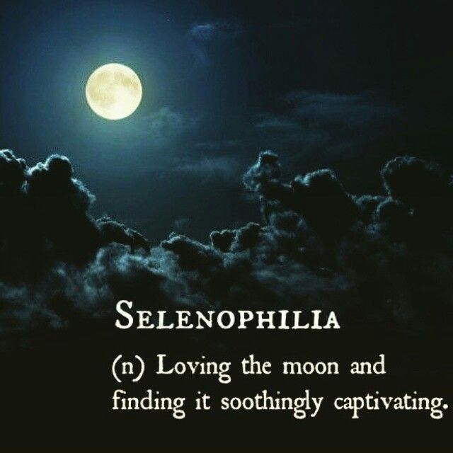 Loving The Moon And Finding It Soothingly Captivating