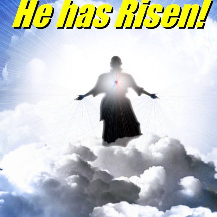 Easter Sunday Christ Jesus Scripture He Has Risen Jpg