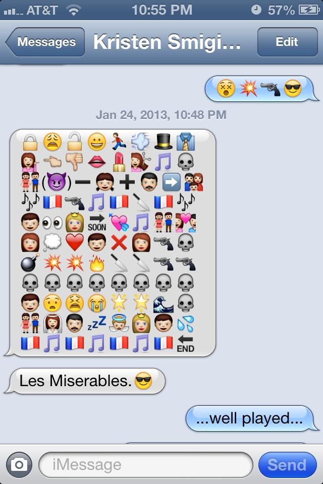 Funny Emoji Texts