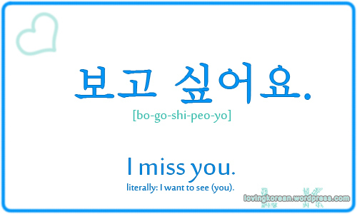 Korean Love Expressions