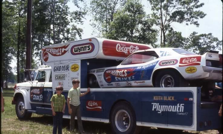 Old Race Car Haulers Page Yellow Bullets