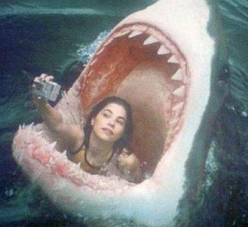 F O Selfie Paling Mengerihkan Selfienya Di Mulut Ikan