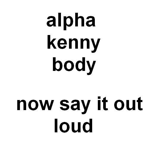 Funny Jokes Like Alpha Kenny Body