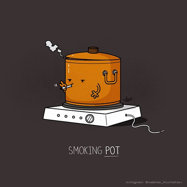 Funny Pun Il Rations By Nabhan Abdullatif
