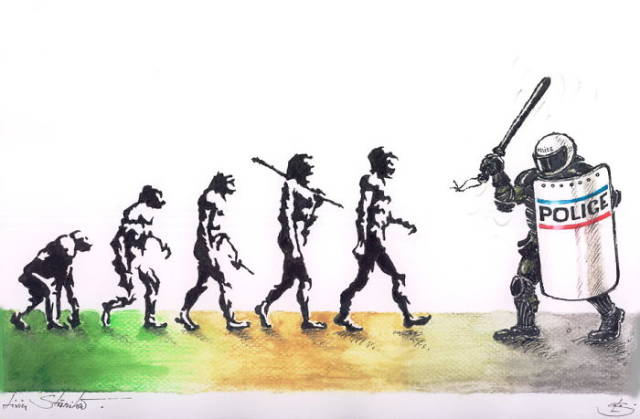 I Think Darwin Would Agree With Most Of These Representations If He Was Alive Funny Il Rations Of Evolution Of Man