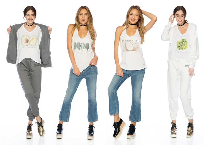 Peace Love World Launches Good Food Good Mood Clothing Line For Whole Foods And Were Obsessed With Their Punny Tees
