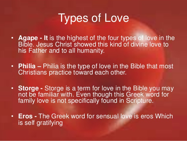 Every Word That Occurs More Than Times In The New Testament The Greek Words For Love
