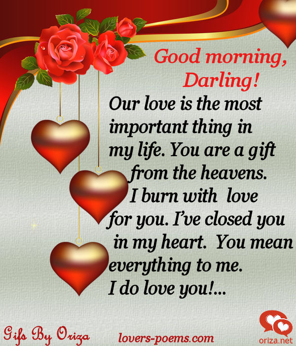 Love word good morning hover me words of love good morning m4hsunfo