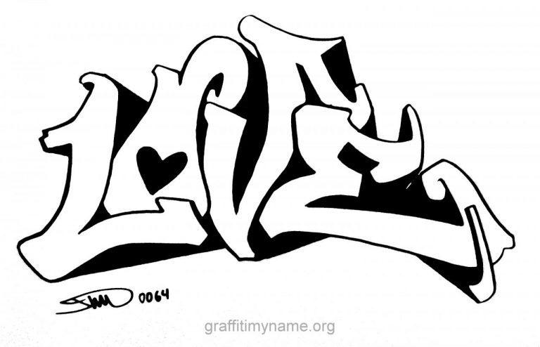 Graffiti The Word Love Graffiti Love