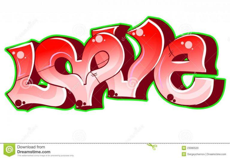 Graffiti Urban Art Love