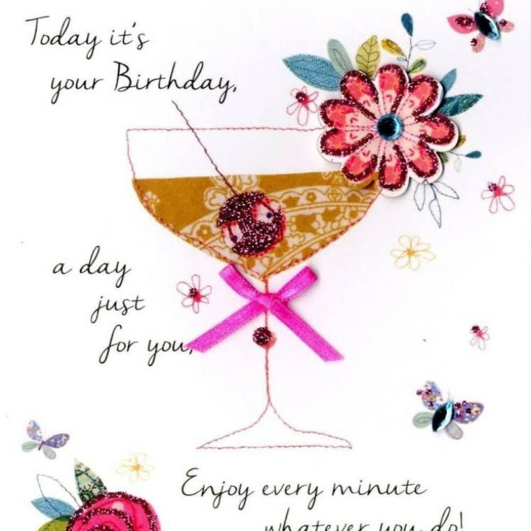 Happy Th Birthday Card Messages Beautiful Enjoy Every Minute W Ver You Do Happy Birthday Dear Cousin