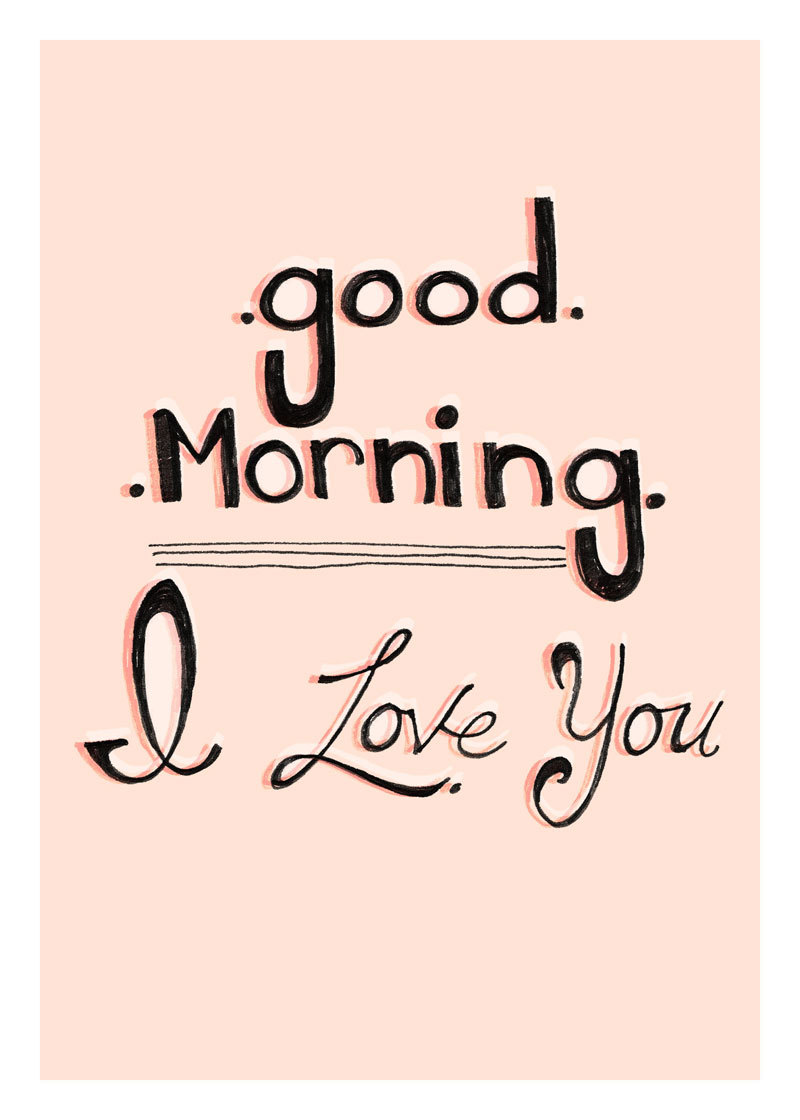 I Love You Good Morning Picture For Iphone