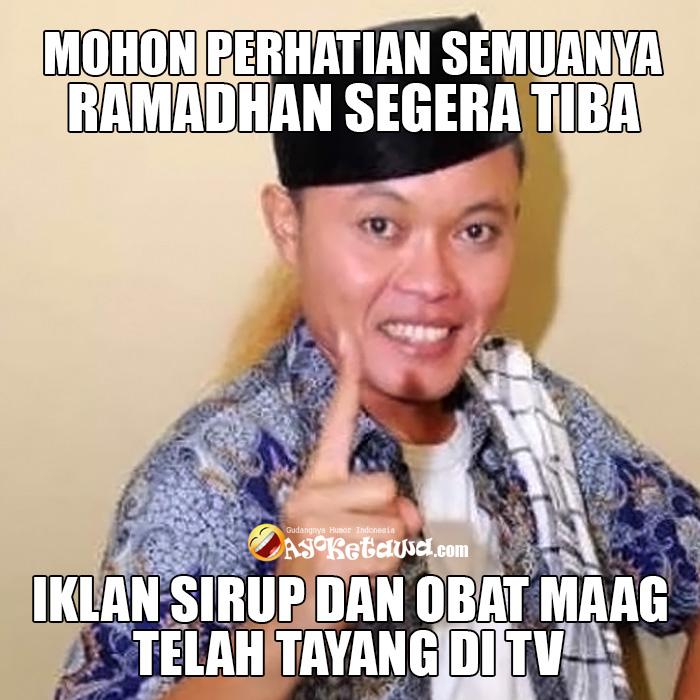 Ramadhan Segera Tiba Iklan Sirup Dan Obat Maag Telah Tayang Di Tv
