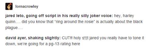 Squad Tumblr Joke Funny Jared Leto