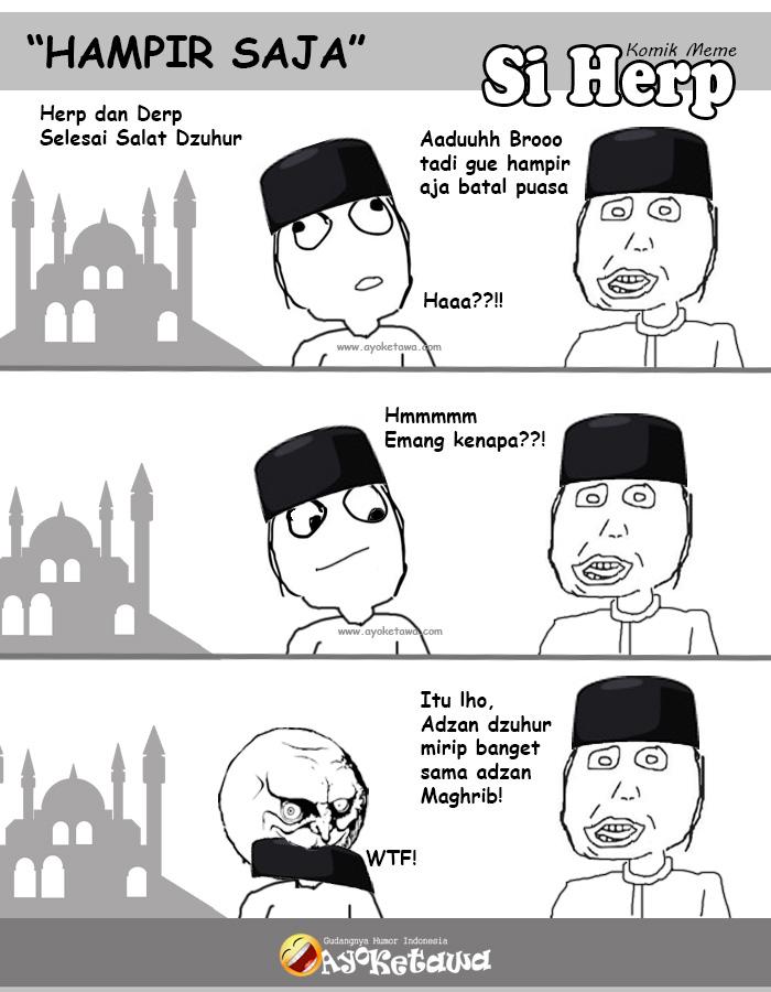 Serial Komik Meme Si Herp Hampir Saja Ayo Ketawa Gudangnya Humor Indonesia