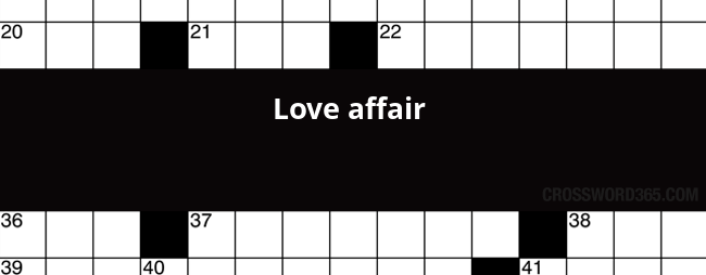 Below You Will Be Able To Find The Answer To Love Affair Crossword Clue Which Was Last Seen On Thomas Joseph Crossword December