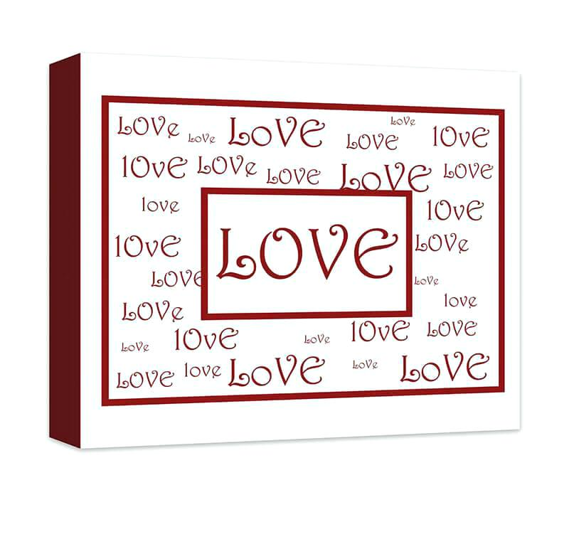 Love Canvas Wall Art Love Canvas Wall Art Word Collage I On Love Provokes Music Canvas