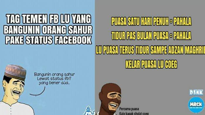 Ini Meme Lucu Sambut Ramadhan No Bikin Batal Puasa