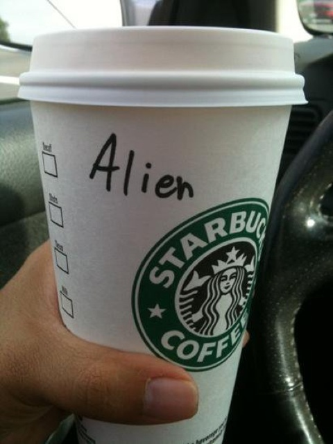 Mispelled Starbucks Names Aline