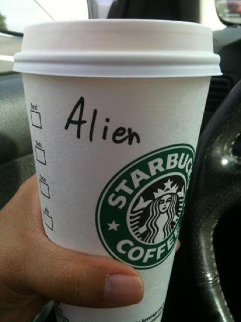 Mispelled Starbucks Names Aline
