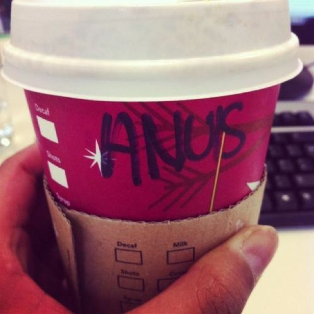 Mispelled Starbucks Names Ann Louise