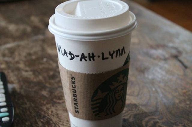 Mispelled Starbucks Names Madeline